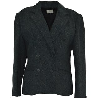 Charcoal Double Breasted Coat