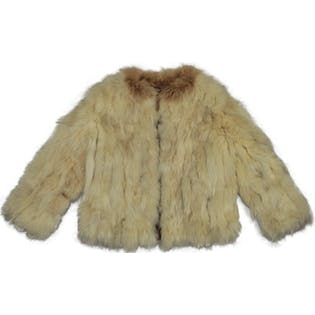 60's Fox Fur Coat