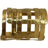 Gold Rectangle Cuff