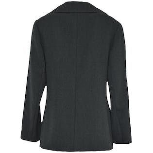 Gray Double Breasted Coat by Junior Accent
