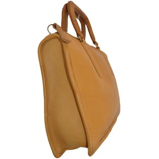 Leather Putty Bag by Coach