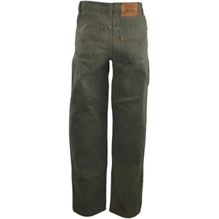 Light Olive Green Jeans by Levi's