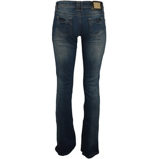 Medium Wash Low Rise Jeans by Fendi