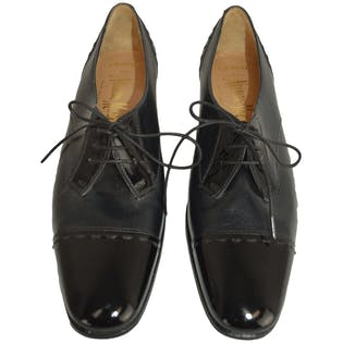Navy and Black Oxford by Neiman Marcus
