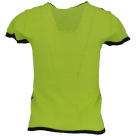 60's/70's Neon Green Knit Top