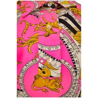 Neon Pink Astrology Dress