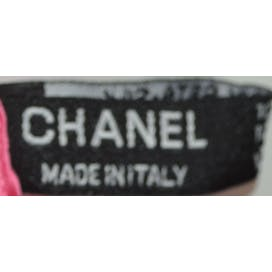 Pink Silk Scarf by Chanel