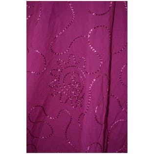 Purple Embroidered Tunic