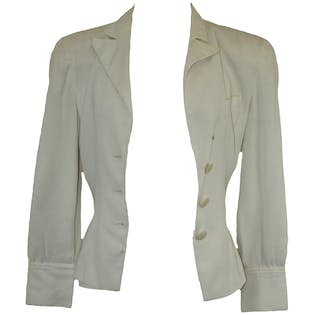 Dressy White Jacket by Emporio Armani