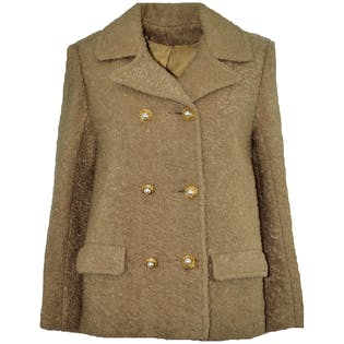 Gold Pearl Coat by Michael Kors