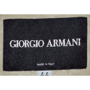 Silk Crepe Jacket With Tie by Giorgio Armani Black Label