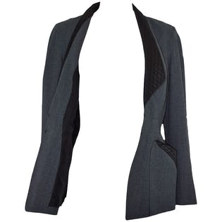 Wool Smoking Jacket by Thierry Mugler