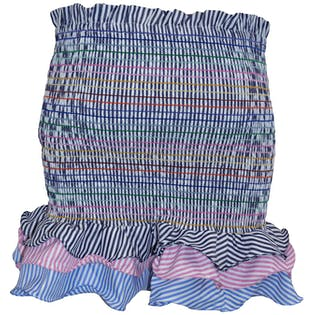 Rainbow Ruffle Skirt by Dot Be