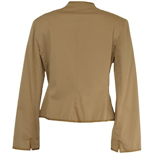 Gold Embroidered Jacket by Anne Klein