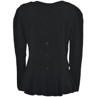 Peplum Blouse by Joan Martin