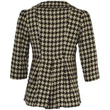 another view of Short Checkered Coat