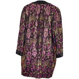another view of Sequin Brocade Kimono