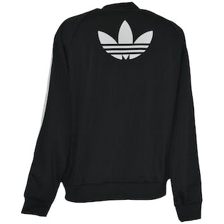 Sporty Black Bomber by Adidas