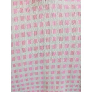 Pink Check Short Sleeve V-Neck T-Shirt by JCPenney
