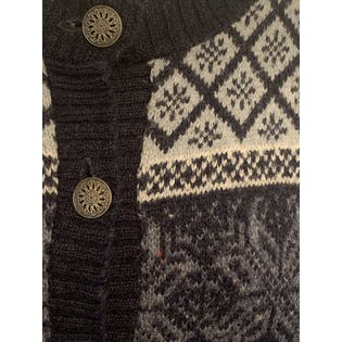 90's Snowflake Cardigan by Alps Fine Women's Apparel