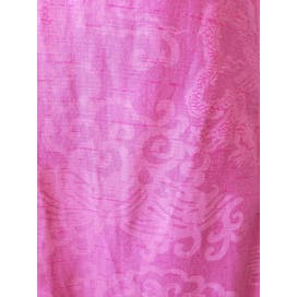 Sleeveless Pink Printed Maxi Dress by Evelyn Pearson