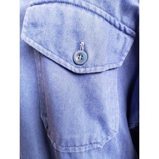 Denim Blue Zip Up Coveralls