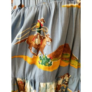 Desert West Skirt with Rodeo Graphics by Desert West