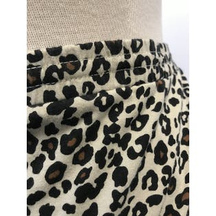 90's Leopard Print Maxi Skirtby The Quacker Factory