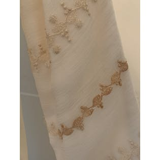 Gauzy and Embroidered Formal Dress by Catherine Stephenson Fine Clothing