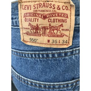 Reworked 550 Relaxed Fit Jeans by Levi's