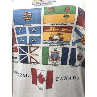 Canadian Flags T-Shirt