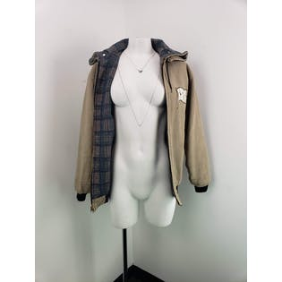 80's Tan Jacket with Flannel Interior