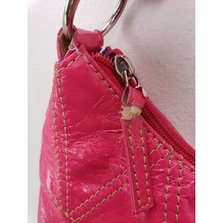 Shiny Hot Pink Purse by Candies
