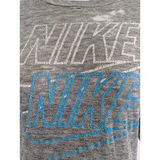 Men's Soft Gray T-Shirt by Nike