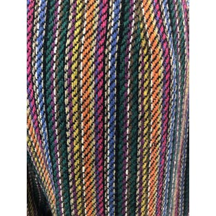 Multicolor Striped High Waisted Wool Pants by Haymaker