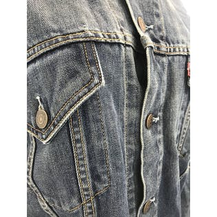 Blue Denim Jacket by Levi's