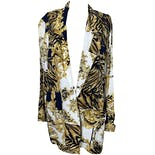 Baroque & Animal Print Mixed Blazer by Barrie Stephens