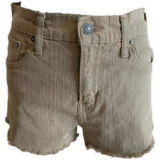 Beige Denim Cutoffs by Levi's
