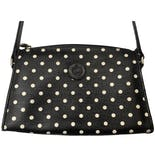 Black and White Polka Dot Crossbody Purse by Liz Claiborne