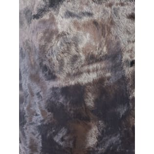 90's Black Furry Pencil Skirt by Etcetera