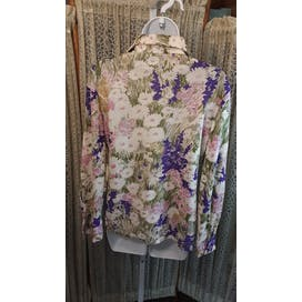 70's English Garden Blouse
