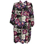 Multicolor Hawaiian Floral Short Sleeve Button Down by Islander