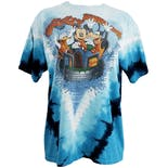 Blue Tie Dye Disney River Run Shirt by Disneyland Resort