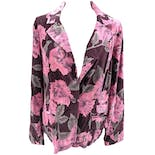 Floral Double Breasted Blazer by Caribbean Joe
