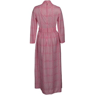 Bubble Pink Hostess Maxi Dress by Avalon