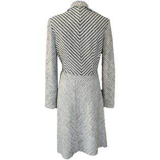 Checkered Wool Two Piece Skirt and Crop Jacket Set by Missoni