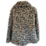 Cheetah Print Fur Coat NWT by UK by French Connection