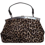 Cheetah Small Duffel Purse by Ronay
