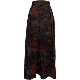 Chivalry Themed Maxi Skirt by Giesswein