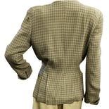 another view of Silk Houndstooth Blazer by Christian Dior